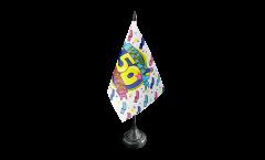 Drapeau de table Happy Birthday 50