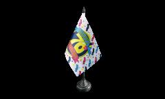 Drapeau de table Happy Birthday 70