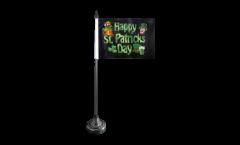 Drapeau de table Happy St. Patrick's Day Fête de la Saint-Patrick