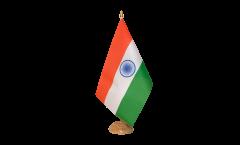 Drapeau de table Inde