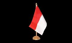 Drapeau de table Indonésie