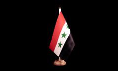 Drapeau de table Irak sans écrit 1963-1991