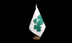 Drapeau de table Irlande Shamrock