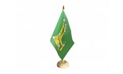 Drapeau de table Irlande Starry Plough vert 1916-1934