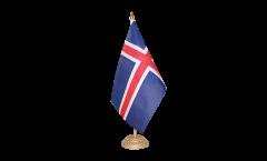Drapeau de table Islande