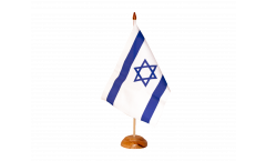 Drapeau de table Israël