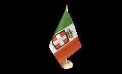 Drapeau de table Italie Royaume Armée royale 1861-1946