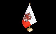 Drapeau de table Italie Tyrol-du-Sud