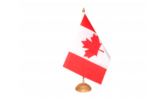 Drapeau de table Canada