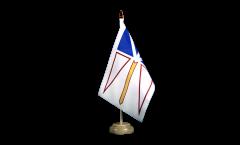 Drapeau de table Canada Terre-Neuve-et-Labrador