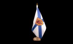 Drapeau de table Canada Nouvelle-Écosse