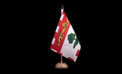 Drapeau de table Canada Île-du-Prince-Édouard