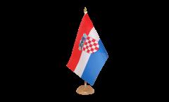 Drapeau de table Croatie