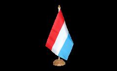 Drapeau de table Luxembourg