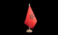 Drapeau de table Maroc