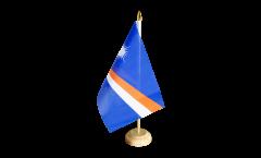 Drapeau de table Îles Marshall