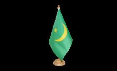 Drapeau de table Mauritanie 1959-2017