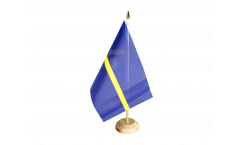 Drapeau de table Nauru