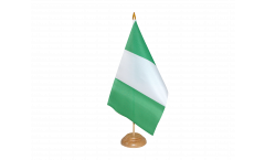 Drapeau de table Nigeria