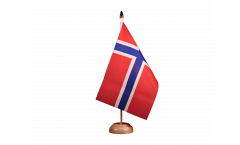 Drapeau de table Norvège