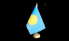 Drapeau de table République des Palaos