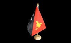 Drapeau de table Papouasie-Nouvelle-Guinée
