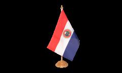 Drapeau de table Paraguay