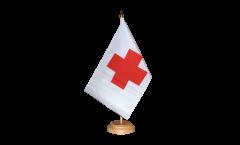 Drapeau de table Croix Rouge