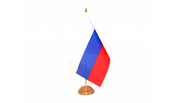 Drapeau de table Russie