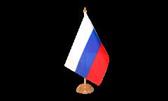Drapeau de table Russie