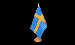 Drapeau de table Suède