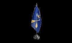 Drapeau de table Suède Comté de Dalécarlie