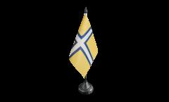 Drapeau de table Suède Province historique Västergötland