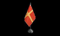 Drapeau de table Suède Province Scanie Skane
