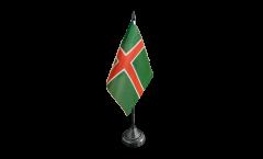 Drapeau de table Suède Province Smaulande Smaland