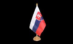 Drapeau de table Slovaquie