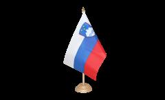 Drapeau de table Slovénie