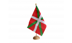 Drapeau de table Pays Basque