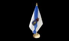 Drapeau de table Espagne Galice