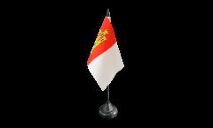 Drapeau de table Espagne Castille-La-Manche