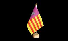 Drapeau de table Espagne Majorque