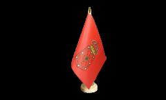 Drapeau de table Espagne Navarre