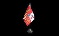 Drapeau de table Espagne Royal