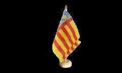 Drapeau de table Espagne Valence