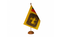 Drapeau de table Sri Lanka
