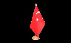Drapeau de table Turquie
