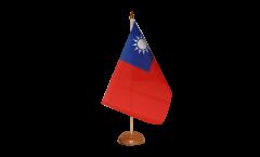 Drapeau de table Taïwan