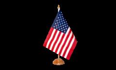 Drapeau de table USA