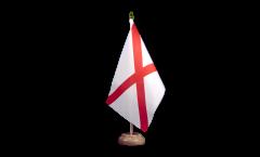 Drapeau de table USA US Alabama