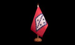 Drapeau de table USA US Arkansas
